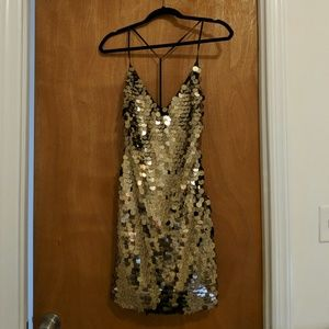 Nasty Gal Sequin Dress - new with tags